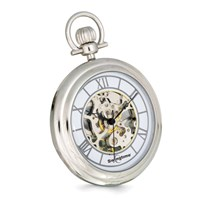 bf4d1a884 Swingtime Chrome-finish Brass Stand Pocket Watch