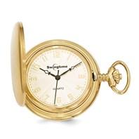 3c7ac21bc Swingtime Gold Finish Brass Quartz 42mm Pocket Watch