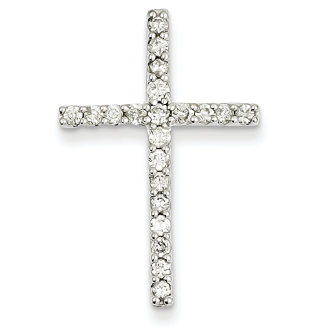 14k white gold diamond cross pendant weight 119 length 29 14k white gold diamond cross pendant weight 119 length 29 width 19 mozeypictures Choice Image