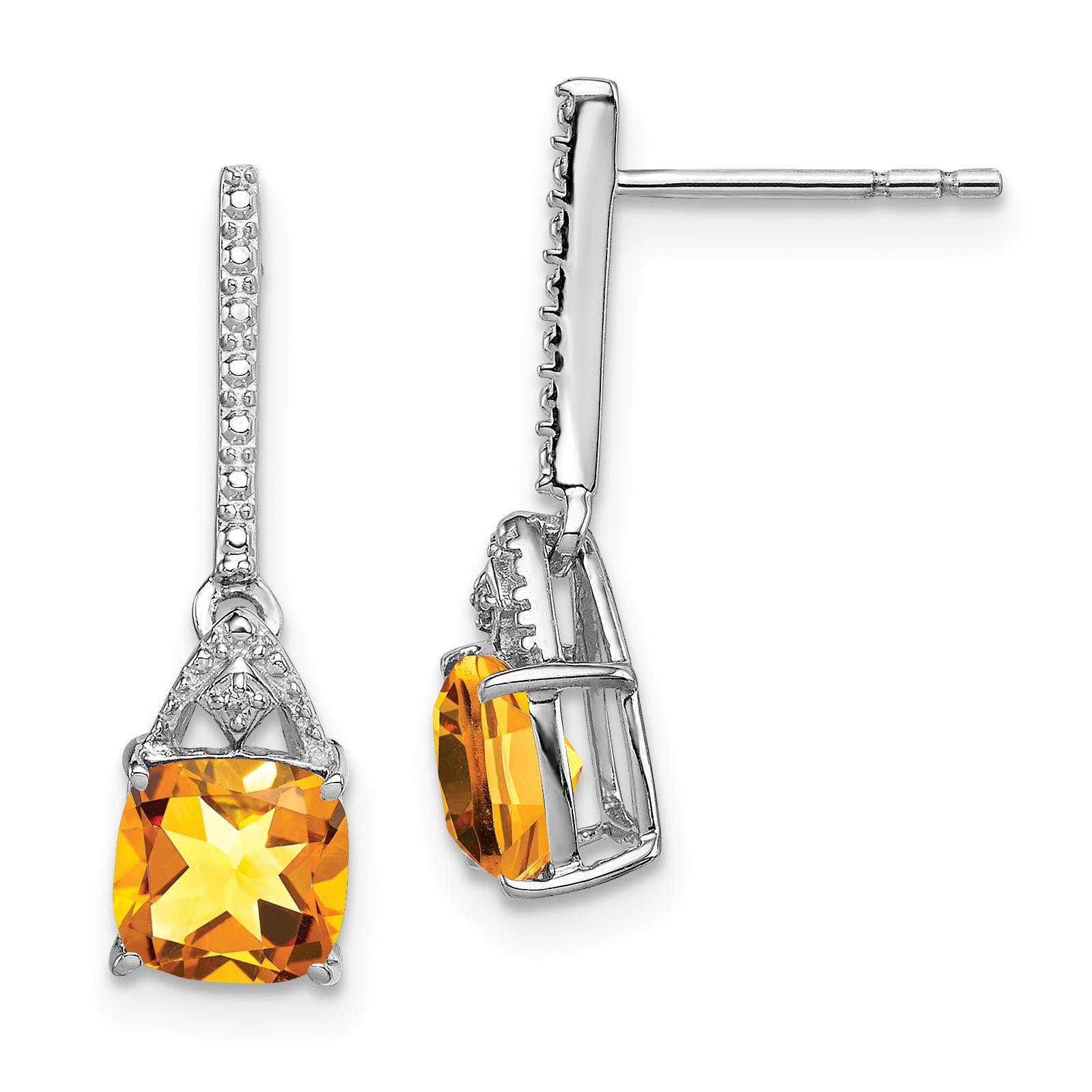 Lex /& Lu LogoArt Sterling Silver University of Southern California Small Dangle Earrings Wire