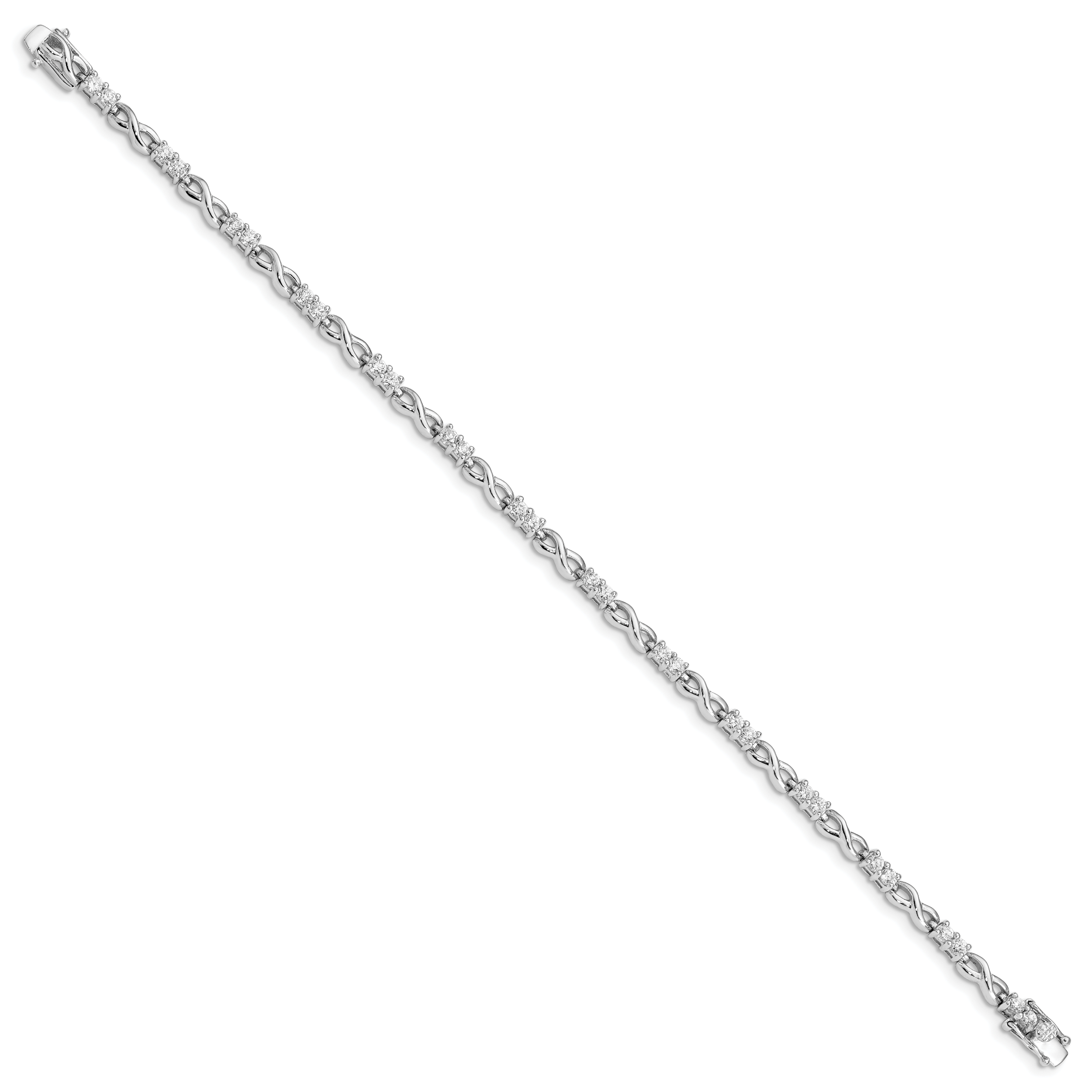 925 Sterling Silver Seven Strand Beaded Bracelet 7.5 Inch Mothers Day Gifts