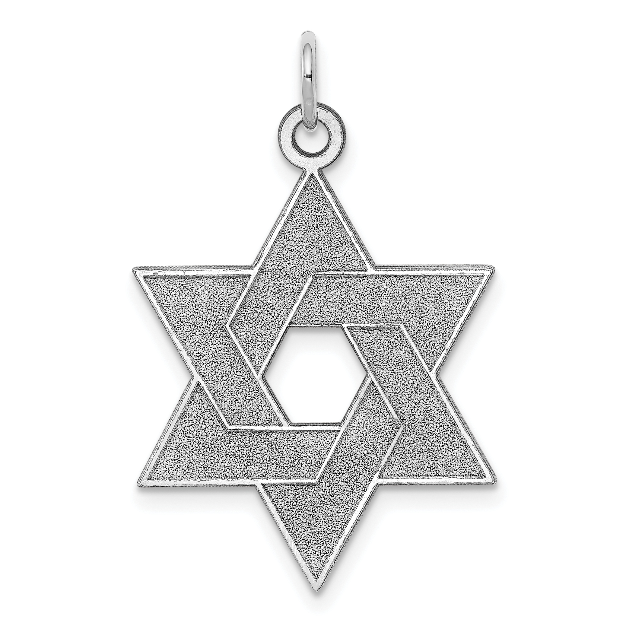14k Yellow Gold Engraved Jewish Jewelry Star Of David Cross Religious Pendant Charm Necklace Judaica Fine Jewelry Gifts For Women For Her